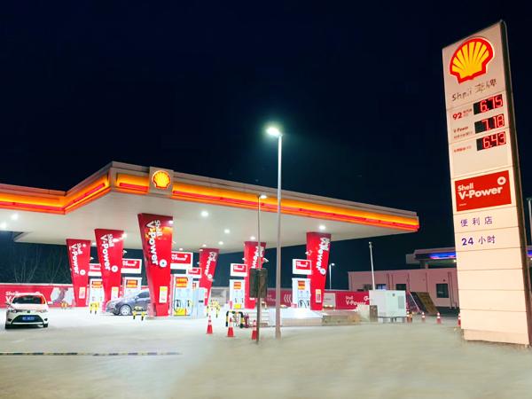 加油站品牌柱;10立柱;中山标识标牌厂家