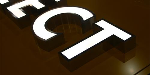 金属围边字;门头发光字;日合发光字制作