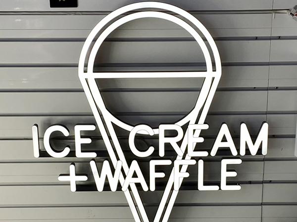 KFC冰淇淋灯箱