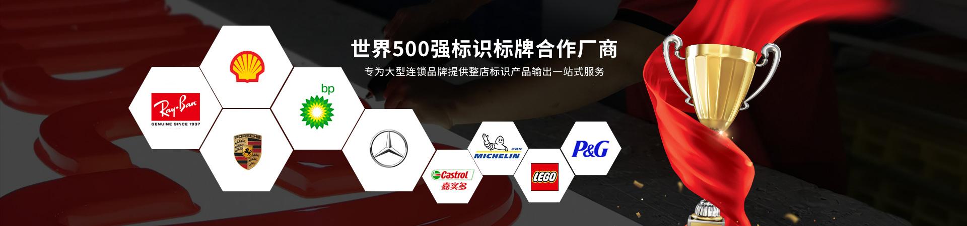 日合-世界500强标识标牌合作厂商